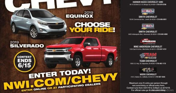 Northwest-Indiana-Chevy-Giveaway