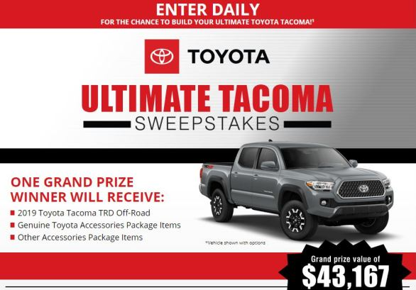 Bassmaster-Toyota-Tacoma-Sweepstakes