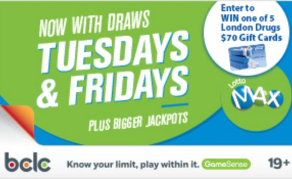 LondonDrugs-Lotto-Max-Contest