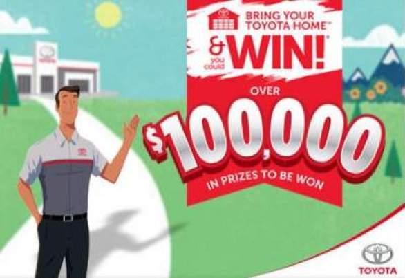 Bringyourtoyotahome-Contest