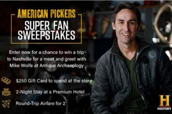 History-American-Pickers-sweepstakes