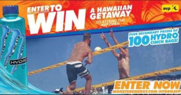 Monsterenergy-Hydro-AVP-Hawaiian-Getaway-Sweepstakes