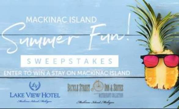 WXYZ Mackinac Island Summer Fun Sweepstakes Contest