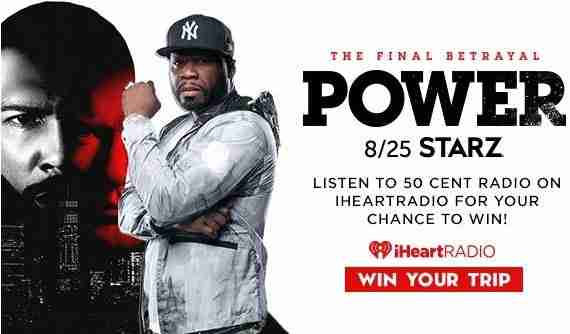 iHeartRadio-50Cent-Sweepstakes