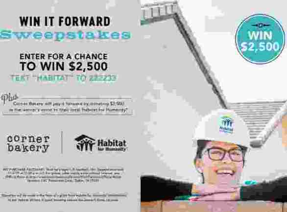 CornerBakeryCafe-Win-It-Forward-Sweepstakes
