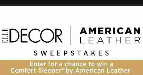 ElleDecor-Comfort-Sleeper-Sweepstakes