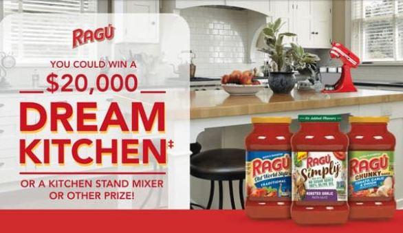 RAGU-Dream-Kitchen-Sweepstakes