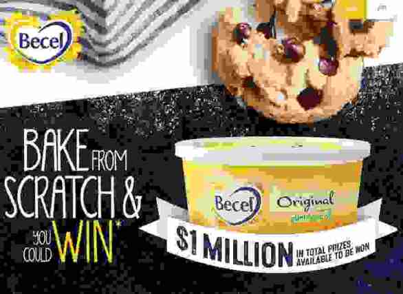 """Enter Becel Bake From Scratch Contest at Becelbakefromscratchcontest.ca or Becel.ca/bake pages and you could win $1 Million prizes. To enter   Becel Bake Contest, candidates needs to purchase any qualifying Becel product and take a photo. Now text """"BAKE"""" to SMS code """"24680"""" to   receive a link or visit online entry page and enter your full name, mailing address valid email address, and phone number, upload a Photo of   your Receipt to receive entries.   <h2 style=""""text-align: center;""""><strong><span style=""""color: #ff0000;""""><span style=""""text-decoration: underline;"""">Becel Bake From Scratch   Contest<span></strong></h2>  <strong>Eligibility:</strong> The Becelbakefromscratch Contest is open to legal residents of the Canada, who are 18 years of age or older.  <strong>Duration:</strong> The Becel Bake From Scratch & You Could Win Contest begins at 12:00:00 AM (ET) on September 16, 2019 and will end   at 11:59:59 PM ET on December 31, 2019.   <table border=""""4""""> <tbody> <tr> <th><strong><a href=""""https://www.becelbakefromscratchcontest.ca/"""" target=""""_blank"""" rel=""""noopener noreferrer"""">Online Entry   Page</a></strong></th> </tr> <tr> <th><strong><a href=""""https://www.becelbakefromscratchcontest.ca/"""" target=""""_blank"""" rel=""""noopener noreferrer"""">Official Rules</a></strong></th> </tr> <tr> <th><strong><a href=""""https://www.facebook.com/Offerscontest/"""" target=""""_blank"""" rel=""""noopener noreferrer"""">Join Our Facebook   Page</a></strong></th> </tr> </tbody> </table>  <strong>Prizes: </strong>  (3) Grand Prizes: $50,000 cheque (40) First Prizes: $5,000 Retailer gift card (100) Third Prizes: $500 Retailer gift card (7,000) Fourth Prizes: $50 Retailer gift card (41,667) $6 off Coupon on any Becel product  <h4 style=""""text-align: left;""""><span style=""""color: #ff0000;""""><strong>Also Participate Nearby Ending Sweepstakes</strong>:</span></h4>  <ul>  <li style=""""text-align: left;""""><a href=""""https://www.offerscontest.com/"""" target=""""_blank"""" rel=""""noopener""""><strong>   Journal</strong></a></li>  <li><a href=""""http"""