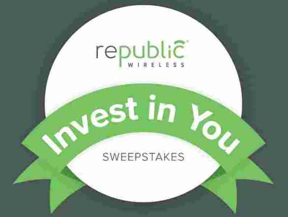 RepublicWireless-Invest-In-You-Sweepstakes