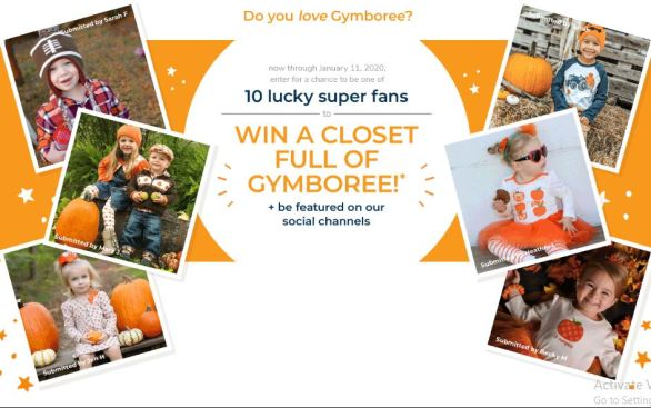 Gymboree-Super-Fan-Sweepstakes