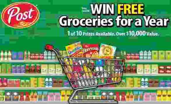 Postconsumerbrands-Free-Groceries-Contest