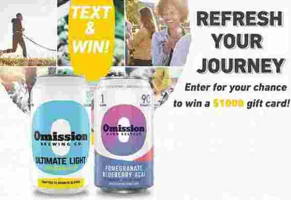 Omission2020Journey-Sweepstakes