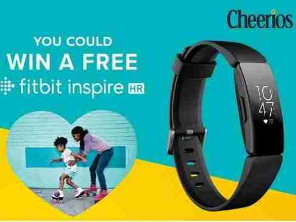Cheerios-Fitbit-Sweepstakes