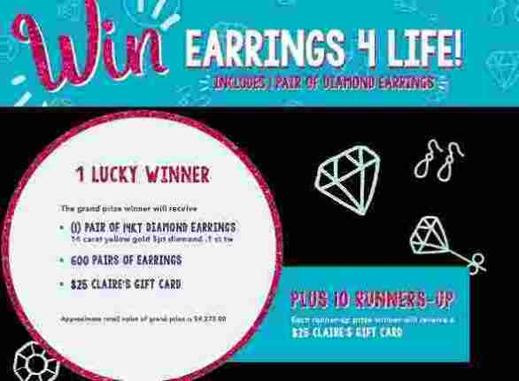 Claires-Earrings4Life-Sweepstakes
