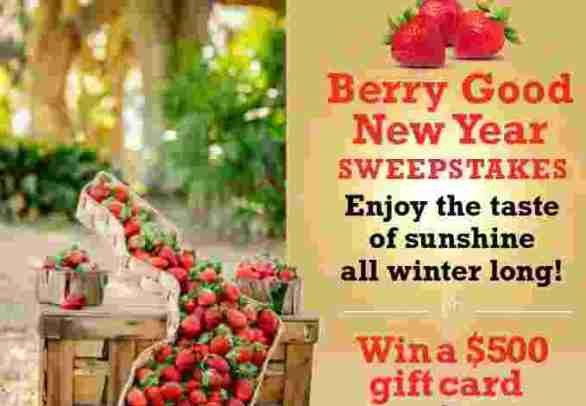 FarmStarLiving-Florida-Strawberry-Sweepstakes