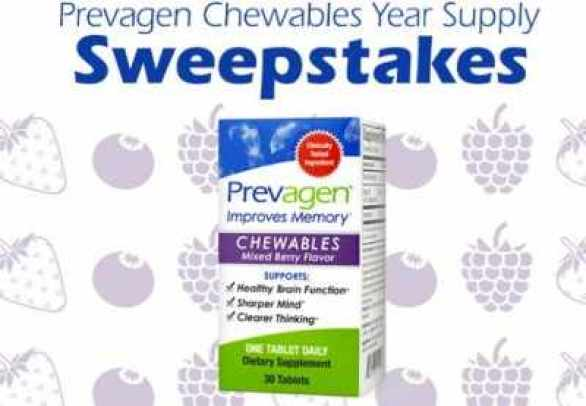 Prevagen-Chewable-Year-Supply-Sweepstakes
