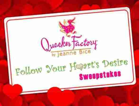 Quackerfactory-follow-your-hearts-desire-sweepstakes