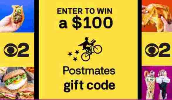 CBSLA-Postmates-Contest