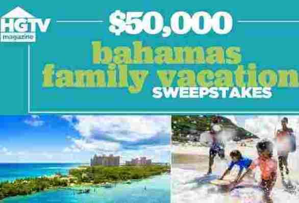 Hgtvmagazine-Bahamas-Family-Vacation-Sweepstakes