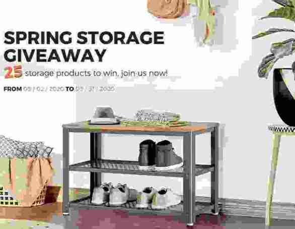Songmics-Spring-Storage-Giveaway