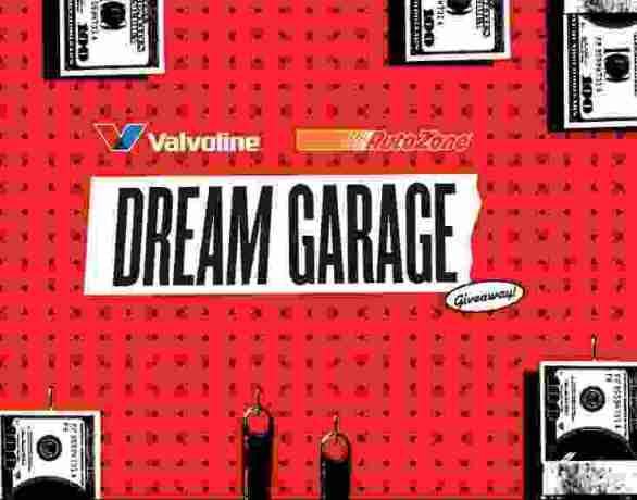 Valvoline-Dream-Garage-Sweepstakes