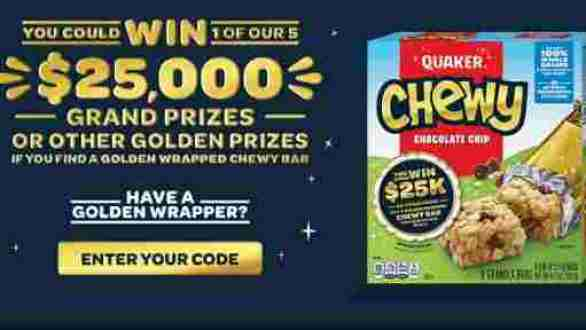 Quaker-Golden-Chewy-Sweepstakes