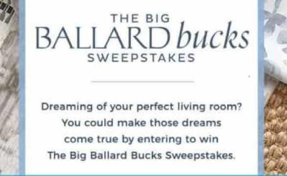 BallardDesigns-Bucks-Sweepstakes