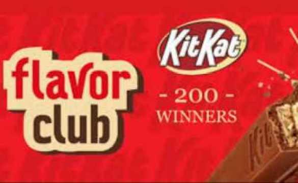 Kitkatflavorclub-Sweepstakes
