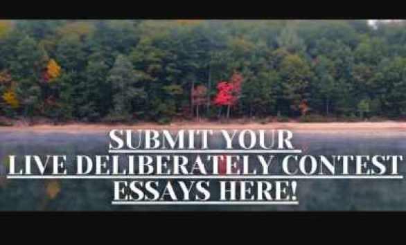 Live-Deliberately-Essay-Contest