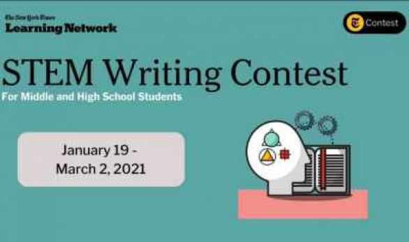 New-York-Times-STEM-Writing-Contest