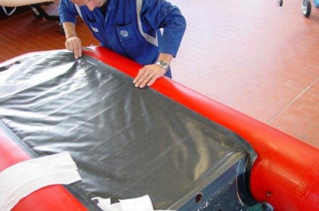 tubes rubberboot reparatie