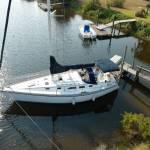 Transport zeilboot 10,5m van Florida USA naar Nederland