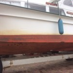 Stralen en coaten onderwaterschip 9,6 meter