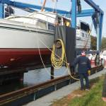 Conserveren stalen onderwaterschip 12m