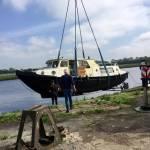 Boot 12 meter 13 ton Rechlin - Groningen