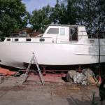 Transport motorboot Pinta 11x3 Roosendaal-Oudenbosch