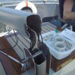 Rep./vervangen Alu mast van motorjacht