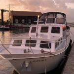 Schilderen buitenkant boot en onderwaterschip met antifouling