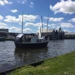 Vervoer van Doerak 680 boot 700x273x15  3200k Winsum-Plasmolen eind maart 2020