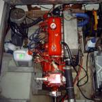 Inboordmotor Renault DTR 40 loopt warm en verliest koelvloestof