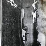 Sprayhood hout/plexi voor motorboot 1973