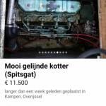 Motor peugeot indenor as10gu  wordt heet
