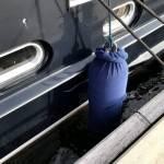 Spotrepair opbouw en romp stalen motorboot te water