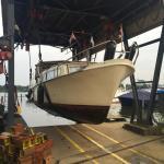 10 meter kruiser Rotterdam-grou