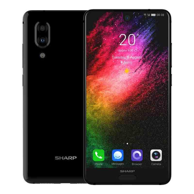 offertehitech-SHARP S2 5.5 Pollici Doppia Fotocamera Posteriore 4GB RAM 64GB ROM Snapdragon 630 Octa Core 4G Smartphone