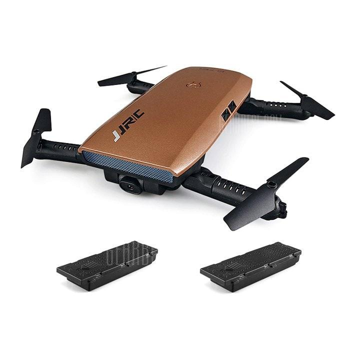 offertehitech-gearbest-JJRC H47 ELFIE+ Foldable RC Pocket Selfie Drone - RTF