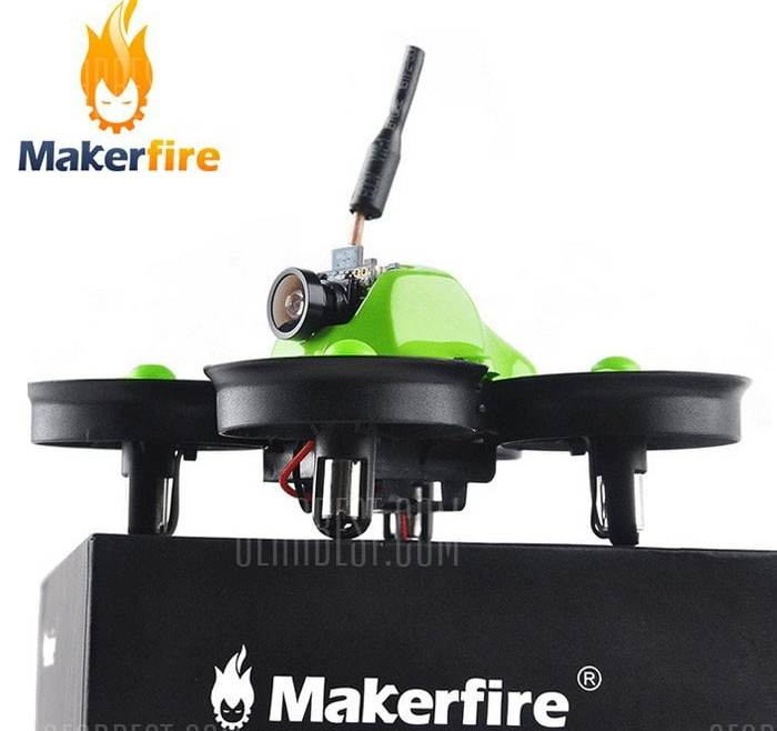 offertehitech-gearbest-Makerfire MICRO FPV 64mm Mini RC Racing Drone - BNF