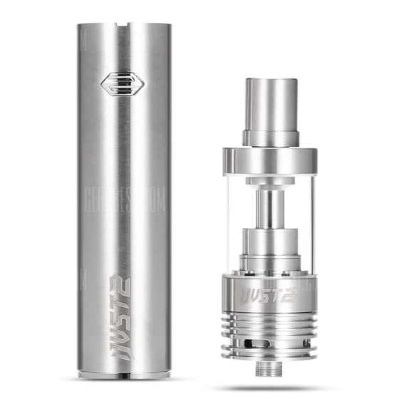 offertehitech-gearbest-Original Eleaf iJust 2 Stainless Steel E-Cigarette Kit with 2600mAh Battery 5.5ml Atomizer