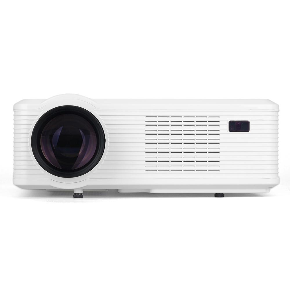 offertehitech-Cheerlux CL720 3000 Lumens LCD Projector 1080P Support HDMI USB VGA AV PS3 / PS4/ Xbox / TV Box - White
