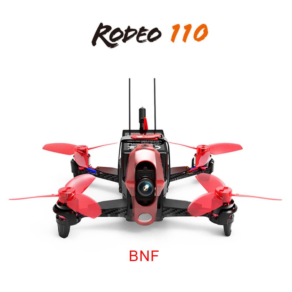 offertehitech-Walkera Rodeo 110 110mm 5.8G 40CH Transmission FPV Racing Drone With 600TVL HD Camera - BNF
